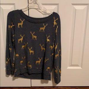 Chaser reindeer sweater size medium